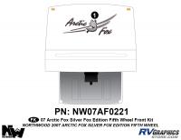 Arctic Fox Silver Fox Edition - 2007 FW-Fifth Wheel - 2007 Arctic Fox Silver Fox Edition Front Kit