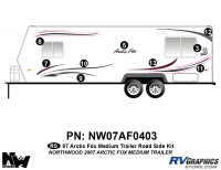 Arctic Fox - 2007 Arctic Fox TT-Medium - 2007 Arctic Fox Med Travel Trailer Left Side Kit