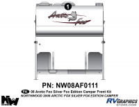 Arctic Fox Silver Fox Edition - 2008 Camper - 2008 Arctic Fox Silver Fox Edition CamperFront Kit