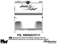 2008 Arctic Fox Silver Fox Edition CamperFront Kit