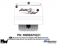 Arctic Fox Silver Fox Edition - 2008 FW-Fifth Wheel - 2008 Arctic Fox Silver Fox Edition FW Front Kit