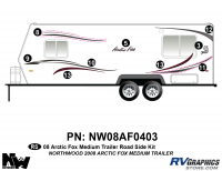 Arctic Fox - 2008 Arctic Fox TT-Medium - 2008 Arctic Fox Med Travel Trailer Left Side Kit