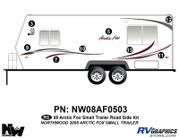 Arctic Fox - 2008 Arctic Fox TT-Small - 2008 Arctic Fox Sm Travel Trailer Left Side Kit