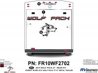 Wolf Pack - 2010 Wolf Pack TT-27 Metal - 2010 Wolf Pack TT-27 Metal Rear Kit
