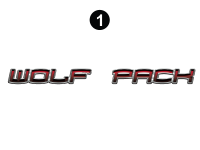 Wolf Pack - 2010 Wolf Pack TT-27 Metal - Large Wolf Pack logo