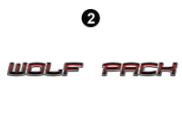 Wolf Pack - 2010 Wolf Pack TT-27 Metal - Small Wolf Pack logo