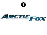 Arctic Fox - 2011 Arctic Fox FW-Fifth Wheel - FW Front Arctic Fox Logo