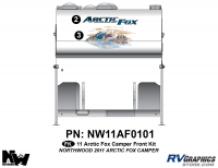 2011 Arctic Fox Camper Front Kit