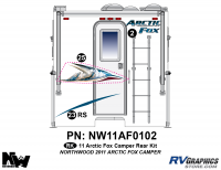 2011 Arctic Fox Camper Rear Kit