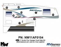 2011 Arctic Fox Camper Right Side Kit