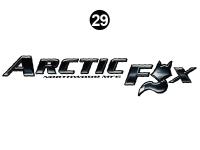 Arctic Fox - 2012 Arctic Fox TT-Travel Trailer - Small Arctic Fox logo