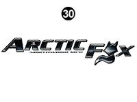 Arctic Fox - 2012 Arctic Fox TT-Travel Trailer - Large Arctic Fox logo