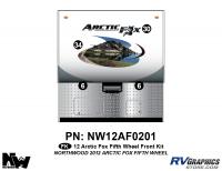 Arctic Fox - 2012 Arctic Fox FW-Fifth Wheel - 2012 Arctic Fox Fifth Wheel Front Kit