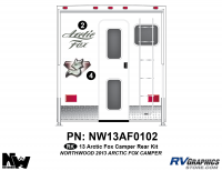 Arctic Fox - 2013 Arctic Fox Camper - 2013 Arctic Fox Camper Rear Kit