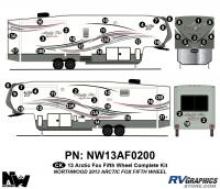 Arctic Fox - 2013 Arctic Fox FW-Fifth Wheel - 2013 Arctic Fox Fifth Wheel Complete Kit
