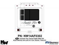Arctic Fox - 2014 Arctic Fox TT-Travel Trailer - 2014 Arctic Fox Travel Trailer Rear Kit