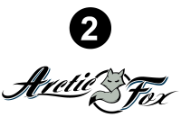 Arctic Fox - 2016 Arctic Fox FW-Fifth Wheel - Side Arctic Fox logo