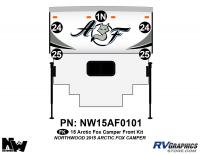 Arctic Fox - 2015 Arctic Fox Camper - 2015 Arctic Fox Camper Front Kit