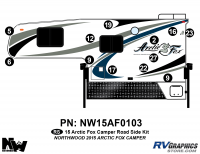 Arctic Fox - 2015 Arctic Fox Camper - 2015 Arctic Fox Camper Left Side Kit