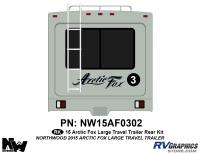 Arctic Fox - 2015 Arctic Fox TT-Large - 2015 Arctic Fox Large Travel Trailer Rear Kit