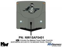 2015 Arctic Fox Medium Travel Trailer Front Kit