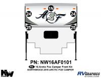 Arctic Fox - 2016 Arctic Fox Camper - 2016 Arctic Fox Camper Front Kit