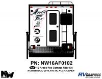 Arctic Fox - 2016 Arctic Fox Camper - 2016 Arctic Fox Camper Rear Kit