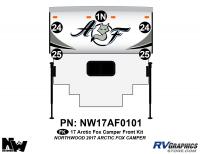 Arctic Fox - 2017 Arctic Fox Camper - 2017 Arctic Fox Camper Front Kit