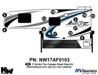 Arctic Fox - 2017 Arctic Fox Camper - 2017 Arctic Fox Camper Left Side Kit