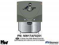 Arctic Fox - 2017 Arctic Fox FW-Fifth Wheel - 2017 Arctic Fox Fifth Wheel Front Kit