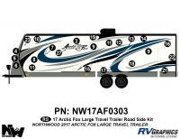 Arctic Fox - 2017 Arctic Fox TT-Large - 2017 Arctic Fox Large Travel Trailer Left Side Kit
