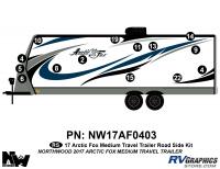 Arctic Fox - 2017 Arctic Fox TT-Medium - 2017 Arctic Fox Medium Travel Trailer Left Side Kit