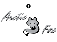 Arctic Fox - 2005 Arctic Fox Camper - Large Fox Logo