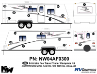 2004 Arctic Fox Large Travel Complete Kit