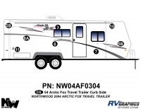 2004 Arctic Fox Large Travel Trailer Right Side Kit