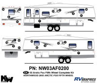 2003 Arctic Fox Fifth Wheel Complete Kit