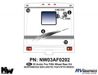 2003 Arctic Fox Fifth Wheel Rear Kit