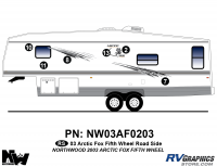 2003 Arctic Fox Fifth Wheel Left Side Kit