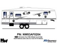 2003 Arctic Fox Fifth Wheel Right Side Kit