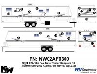 Arctic Fox - 2002 Arctic Fox TT-Large - 2002 Arctic Fox Large Travel Complete Kit