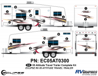 2005 Attitude Travel Trailer Complete Kit