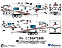 2010 Attitude Fifth Wheel Complete Graphics Kit
