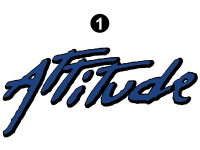 Attitude - 2013 FW-Fifth Wheel Blue - Large Attitude Logo 52""