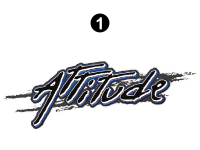 Attitude - 2014 FW-Fifth Wheel Blue - Large Attitude Logo 54.5""