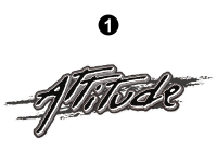 Attitude - 2014 FW-Fifth Wheel Gray - Large Attitude Logo 54.5""
