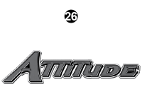 Attitude - 2015 Lg TT-Gray on White - Attitude Tag Line Logo