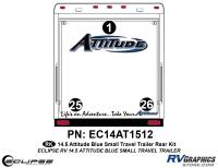 2014.5 Blue  Attitude Sm TT Rear Graphics Kit