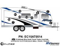 Attitude - 2015 Sm TT-Blue - 2015 Blue Attitude Sm TT Right Side Graphics Kit