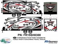 Shockwave - 2015-2016Shockwave TT-Travel Trailer - 2015 Shockwave Travel Trailer Complete Graphics Kit