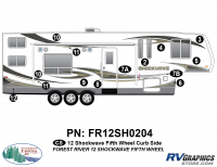 Shockwave - 2012 Shockwave FW-Fifth Wheel - 2012 Shockwave FW Right Side Graphics Kit